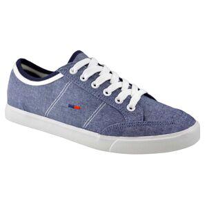 THEICONIC Pantofi Casual Barbati Bleu Jeans din textil