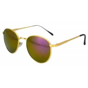 THEICONIC Ochelari de soare Rotunzi culoare Mov cu Gold'