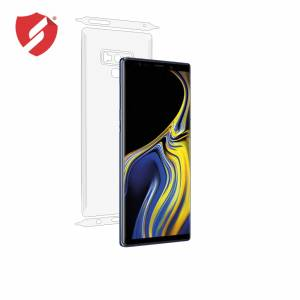 Smart Protection Folie de protectie Smart Protection Samsung Galaxy Note 9 compatibila cu carcasa Leather Wallet Cover - doar-spate+laterale