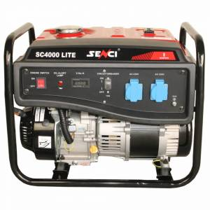 SENCI Generator curent monofazat SC-4000 LITE Putere max. 3.8 kW