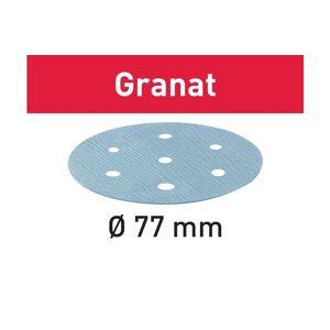 Festool Foaie abraziva STF D77/6 P80 GR/50 Granat