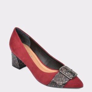 Epica Pantofi EPICA visinii, 9686487, din nabuc