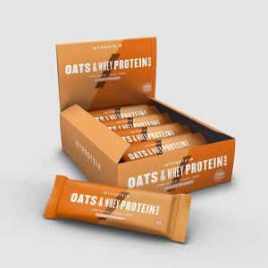 Baton proteic cu Ovăz & Zer - Ciocolata si Alune
