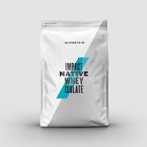 Myprotein Impact Native Whey Isolate - 2.5kg - Vanilie naturala