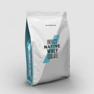 Impact Native Whey Isolate - 2.5kg - Ciocolata naturala
