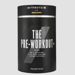 Myprotein THE Pre-Workout+ - 20servings - Portocale și Mango