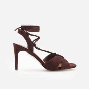 Reserved - Sandale cu toc înalt - Maro