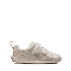 Clarks Trainers - Roamer Craft T Silver 18.5