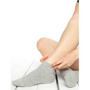 Socks Concept Sosete scurte simple gri Socks Concept SC-1740
