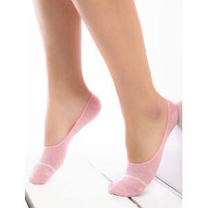 Talpici bumbac roz cu silicon Socks Concept BBT-01