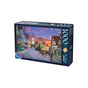 D-Toys Puzzle D-Toys - Rothenburg, Germany, 1.000 piese (Dtoys-62154-EC17)