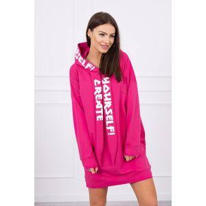 Kesi Dress with hood Oversize fuchsia Neurčeno One size