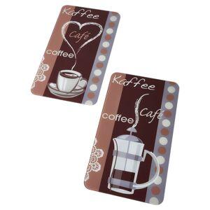 """bonprix Plăci de protecţie pentru aragaz """"Aromă de cafea"""" (set/2piese) 0 maro"""