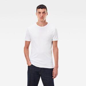 Basic T-Shirt 2-Pack - White - Men S White male