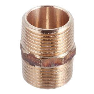 Ниппель Viega (266608) 1 НР(ш) х 1 НР(ш) двойной бронзовый
