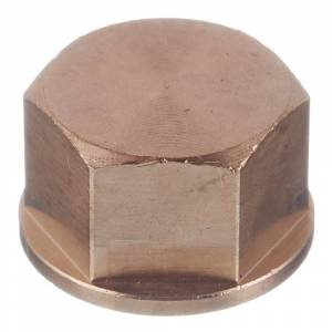 Заглушка Viega (266653) 3/4 ВР(г) бронзовая