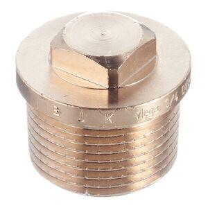 Заглушка Viega (320089) 3/4 НР(ш) бронзовая