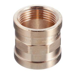 Муфта Viega (266561) 1 ВР(г) х 1 ВР(г) бронзовая
