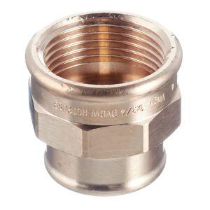 Муфта переходная Viega (266356) 1 ВР(г) х 3/4 ВР(г) бронзовая