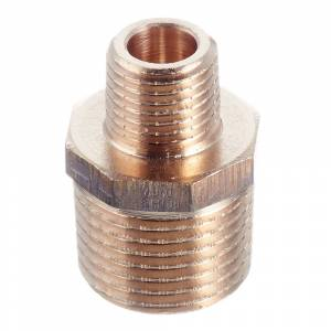 Ниппель переходной Viega (319526) 1/2 НР(ш) х 1/4 НР(ш) бронзовый