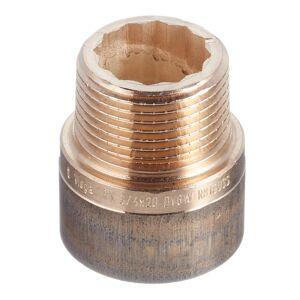 Удлинитель Viega (355029) 20 мм х 3/4 ВР(г) х 3/4 НР(ш) бронзовый