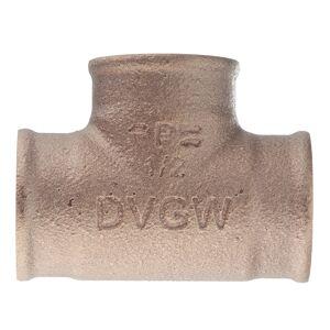 Тройник Viega (264222) 1/2 ВР(г) х 1/2 ВР(г) х 1/2 ВР(г) бронзовый