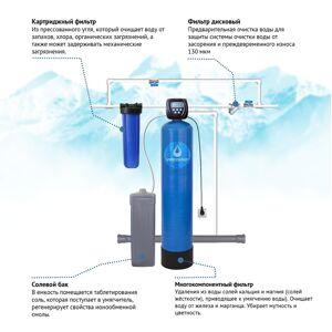 VIPECO Готовое решение для удаления железа, марганца, умягчение воды 1,5 куб.м/ч (блок управления Clack)