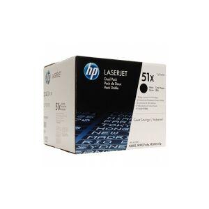 Картридж HP Q7551XD/Q7551XC № 51X черный
