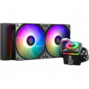 Водяное охлаждение DeepCool Captain 240 Pro V2 ( Intel LGA2011/1366/115/AMD/TR4/AM4/AM3+/AM3/AM2+/AM2/FM2+/FM2/FM1)