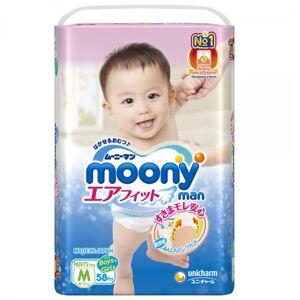 Подгузники Moony Man Трусики M 6-11кг 58шт 4903111184293