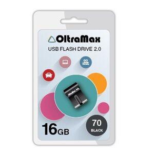 USB Flash Drive 16Gb - OltraMax 70 Black OM-16GB-70-Black