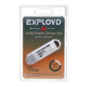 USB Flash Drive 16Gb - Exployd 600 EX-16GB-600-White