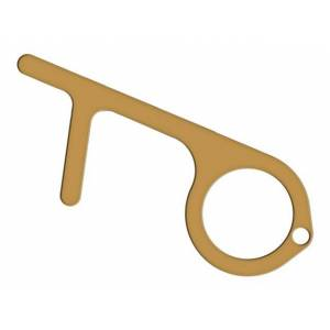 Тачер Krutoff Standart Door Opener, Push Pull Copper 00052