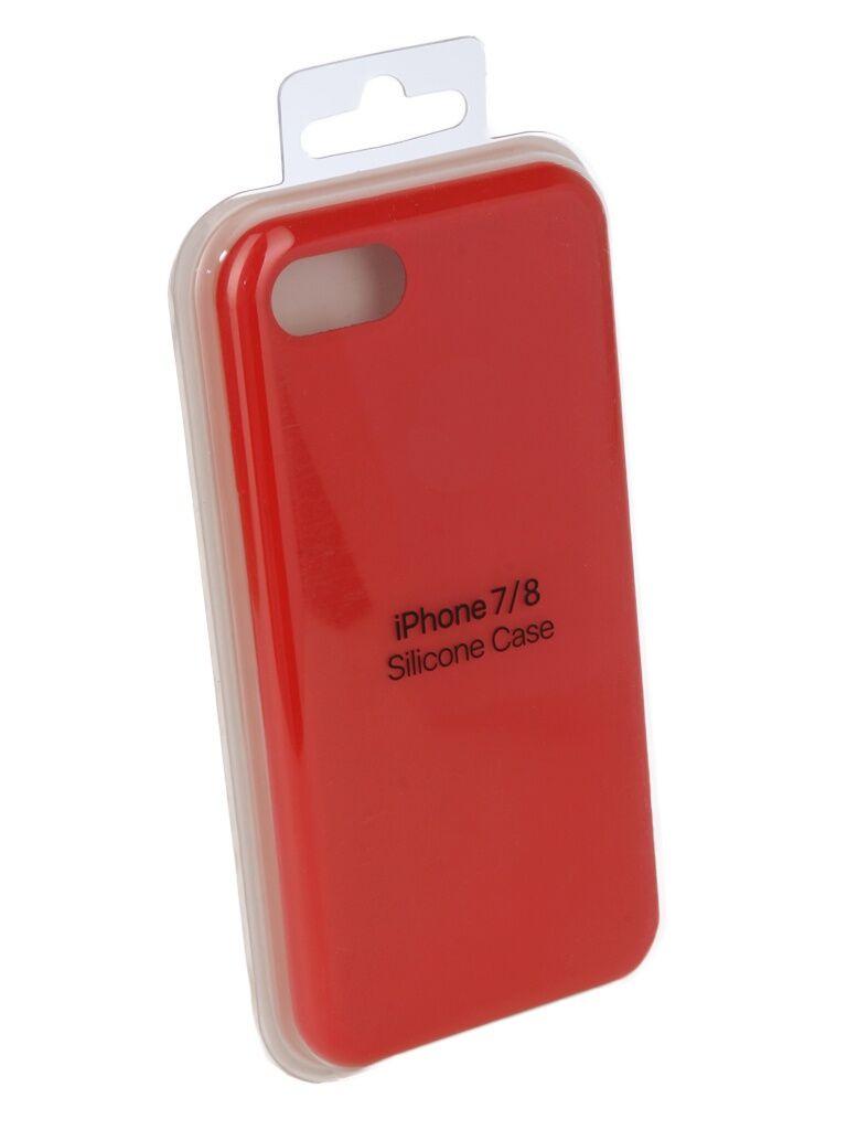 Чехол Innovation для APPLE iPhone 7 / 8 Silicone Case Red 10288