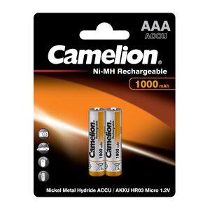 Аккумулятор AAA - Camelion 1.2V 1000mAh Ni-Mh BL-2 NH-AAA1000BP2 (2 штуки) 6182