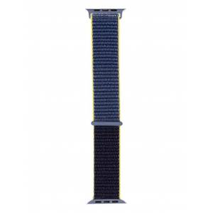 Аксессуар Ремешок Evolution для APPLE Watch 42/44mm Sport Loop AW44-SL01 Nylon Alaskan Blue 36766