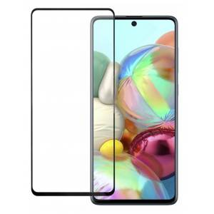 Защитное стекло Pero для Samsung Galaxy A71 Full Screen Cover Full Glue Black PGFG-A71