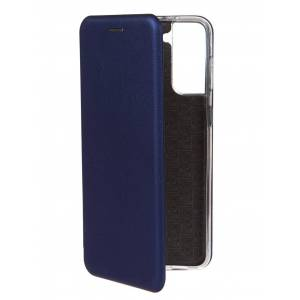 Чехол Zibelino для Samsung Galaxy S21 Plus Book Blue ZB-SAM-S21P-BLU