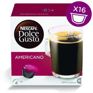 Капсулы Nescafe Americano 16шт стандарта Dolce Gusto 12115461