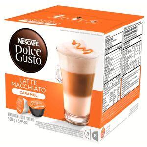 Капсулы Nescafe Latte Macchiato Caramel 16шт стандарта Dolce Gusto 12136960