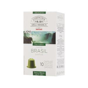 Капсулы Дель Арабика Бразил Сантос 10шт 000917
