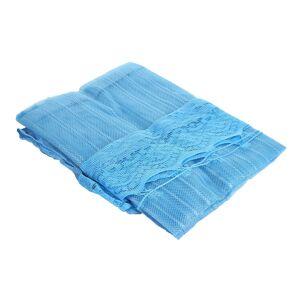 Средство защиты из сетки ZDK Door_blue дверная антимоскитная