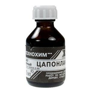 Лак ПМ Цапон 30мл Black А090017