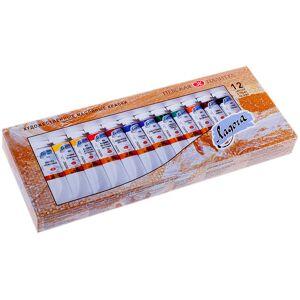 Масляные краски Невская Палитра Ладога 12 цветов 1241004