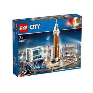 Lego Конструктор Lego City Ракета для запуска в далекий космос и пульт управления запуском 837 дет. 60228