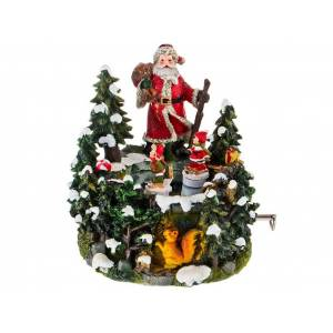 Игрушка Lefard Дед Мороз 15x13.5x15cm 175-211