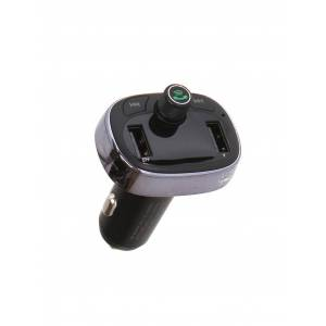 FM-Трансмиттер Baseus T Typed Bluetooth MP3 Charger With Car Holder Tarnish CCALL-TM0A