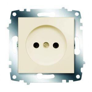 ABB Электрическая розетка ABB Cosmo 619-010300-215 Кремовый