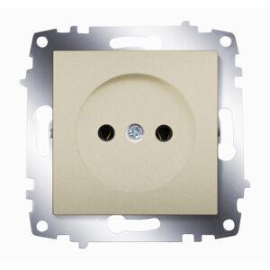 ABB Электрическая розетка ABB Cosmo 619-011400-215 Титаниум