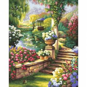 Schipper Картина по номерам Райский сад 40х50 см